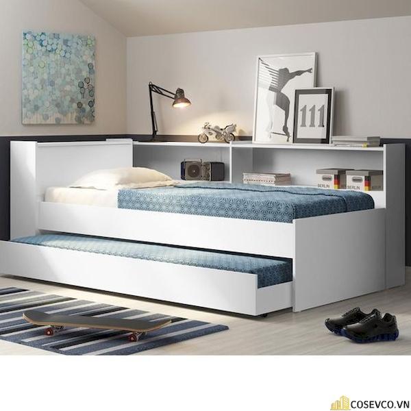 Giường ngủ có ngăn kéo để đệm - Hình ảnh 8