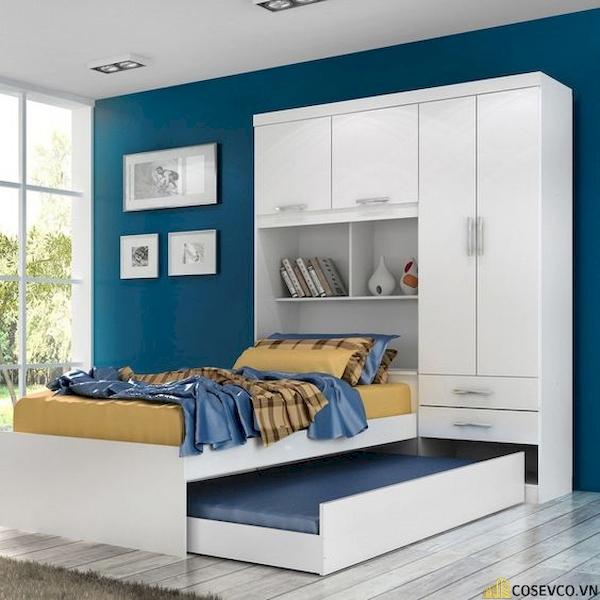 Giường ngủ có ngăn kéo để đệm - Hình ảnh 9