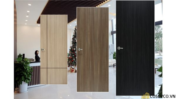 Cửa là từ chất liệu gỗ MDF đẹp sang trọng
