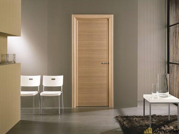 Hệ thống cửa được làm từ gỗ MDF