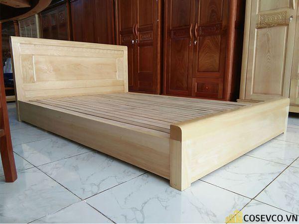 Ứng dụng gỗ sồi nga trong sản xuất giường ngủ