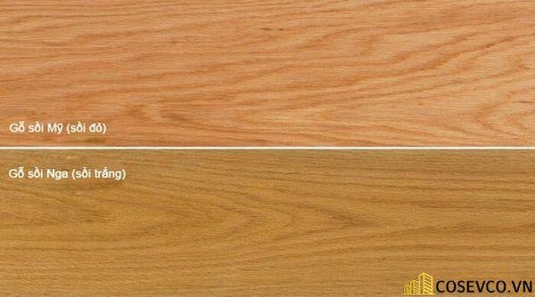 Phân biệt các loại gỗ sồi hiện nay