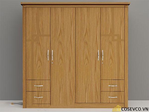 Ứng dụng gỗ sồi nga trong sản xuất tủ quần áo