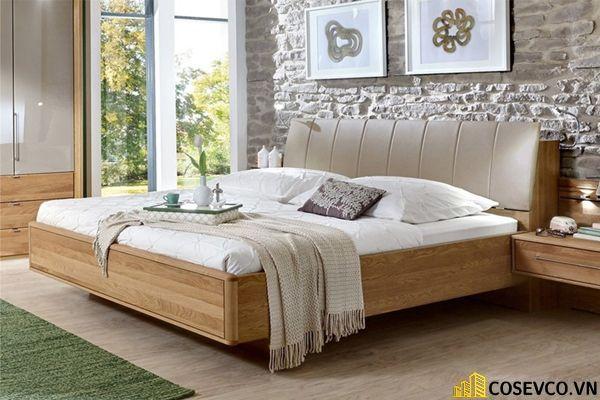Mẫu giường ngủ đẹp thiết kế sang trọng - M12