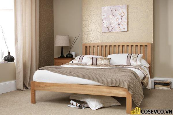Mẫu giường ngủ đẹp thiết kế sang trọng - M11