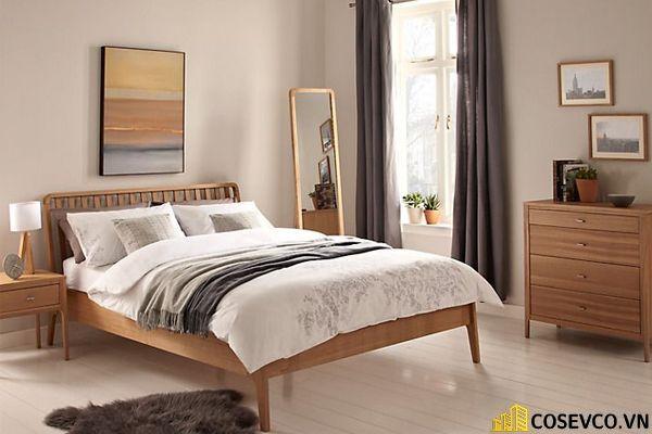 Mẫu giường ngủ đẹp thiết kế sang trọng - M9