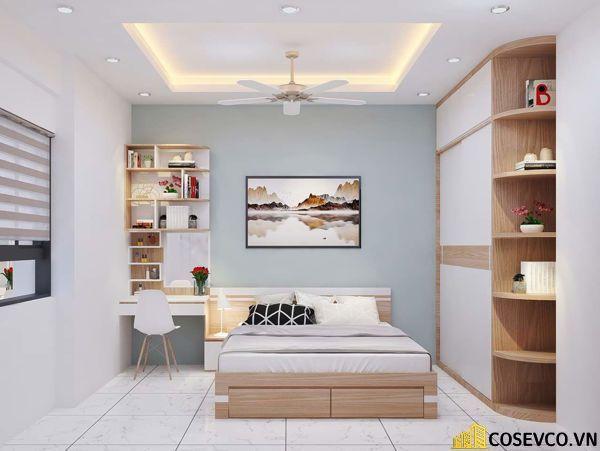 Tủ quần áo được thiết kế theo xu hướng hiện đại