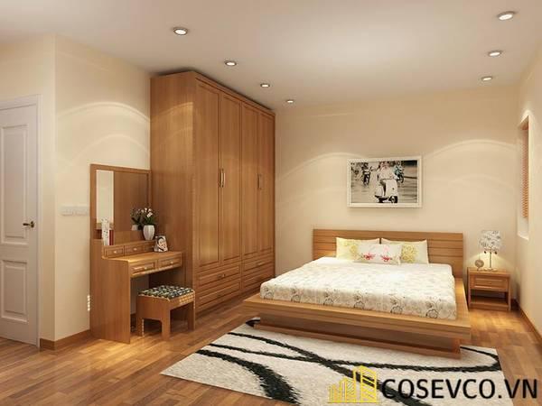 Giường gỗ sồi - Mẫu 18