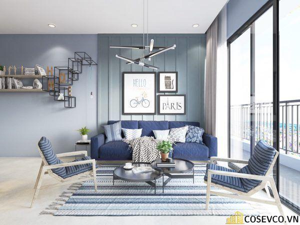 Phòng khách phong cách tối giản là sự giản đơn các đường nét, họa tiết trong thiết kế và trang trí nội thất - M9