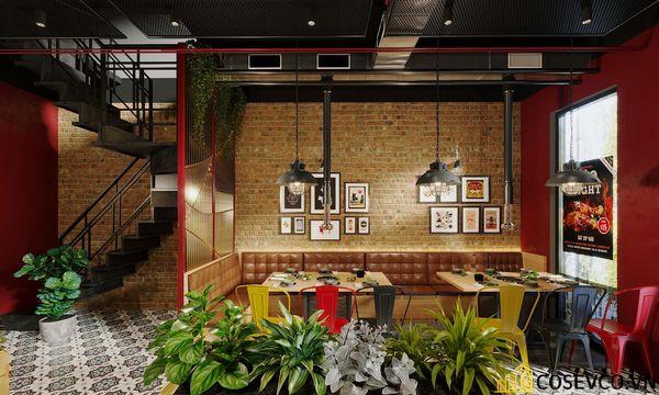 Mẫu thiết kế nhà hàng bình dân lẩu nướng ấn tượng - View 5
