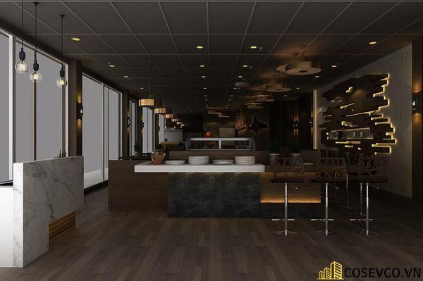 Nhà hàng Buffet đơn giản nhỏ gọn - View 5