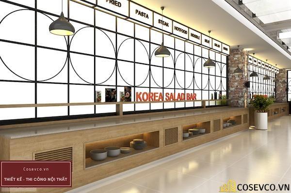 Mẫu thiết kế nhà hàng Buffet sang trọng sao cấp - View 2