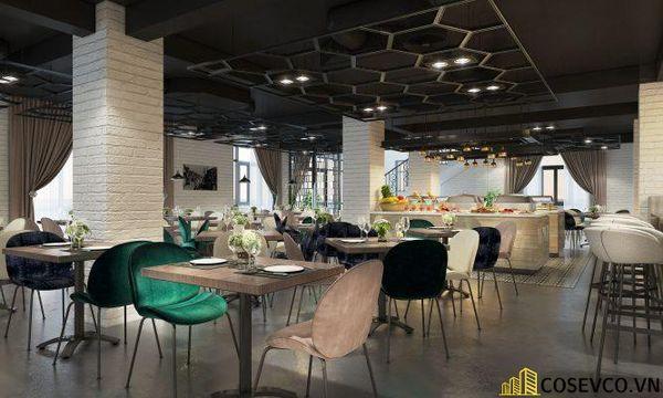 Mẫu thiết kế nhà hàng Buffet ấn tượng, phong cách trẻ trung sang trọng - View 5