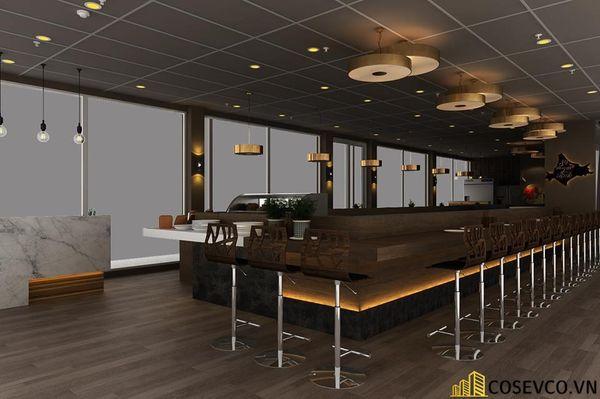 Nhà hàng Buffet đơn giản nhỏ gọn - View 4