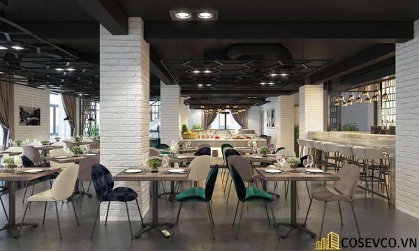 Mẫu nhà hàng Buffet ấn tượng, phong cách trẻ trung sang trọng - View 7