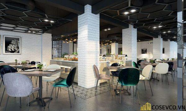 Mẫu nhà hàng Buffet ấn tượng, phong cách trẻ trung sang trọng - View 9