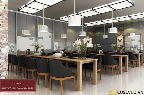 Mẫu thiết kế nhà hàng Buffet sang trọng sao cấp - View 9