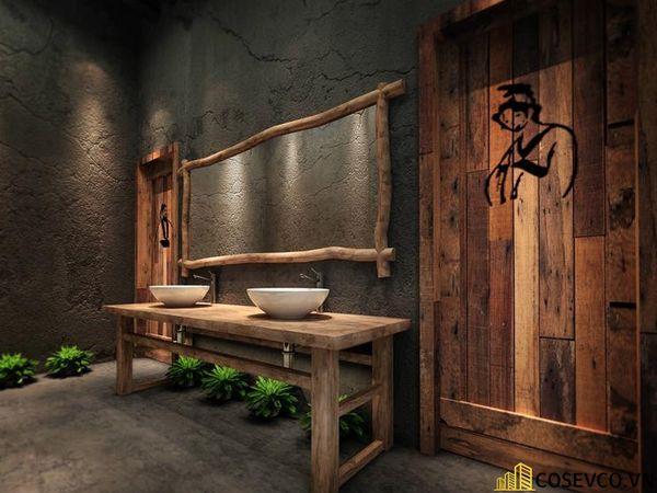Bố trí nội thất nhà hàng chay độc đáo - View 13