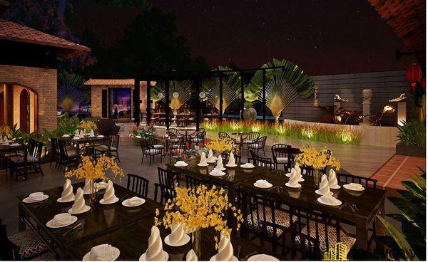 Mẫu nhà hàng chay thiết kế sang trọng - cao cấp - View 10