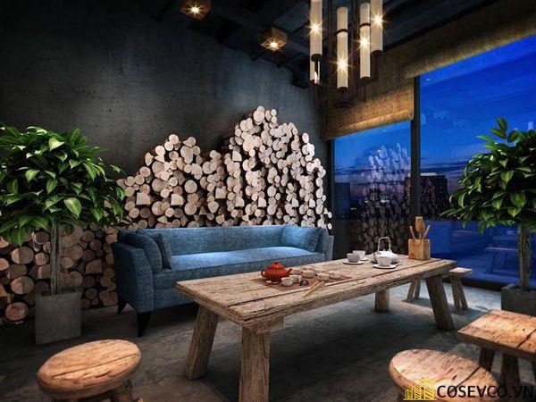 Bố trí nội thất nhà hàng chay độc đáo - View 4