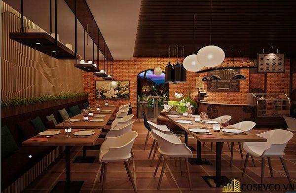 Mẫu nhà hàng chay thiết kế sang trọng - cao cấp - View 13
