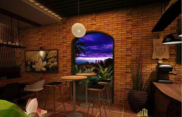 Mẫu nhà hàng chay thiết kế sang trọng - cao cấp - View 3