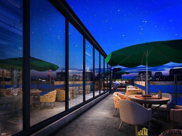 Bố trí nội thất nhà hàng chay độc đáo - View 12