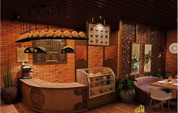 Mẫu nhà hàng chay thiết kế sang trọng - cao cấp - View 6