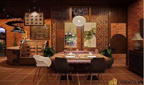 Mẫu nhà hàng chay thiết kế sang trọng - cao cấp - View 4