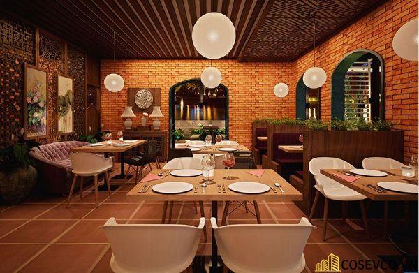 Mẫu nhà hàng chay thiết kế sang trọng - cao cấp - View 7