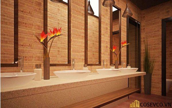 Mẫu nhà hàng chay thiết kế sang trọng - cao cấp - View 8