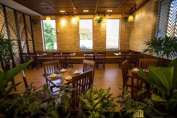 Thiết kế nhà hàng phong cách đồng quê nhưng vẫn mang đậm nét sang trọng tinh tế, tạo không gian thưởng thức ẩm thực thoải mái nhất tới khách hàng - View 14