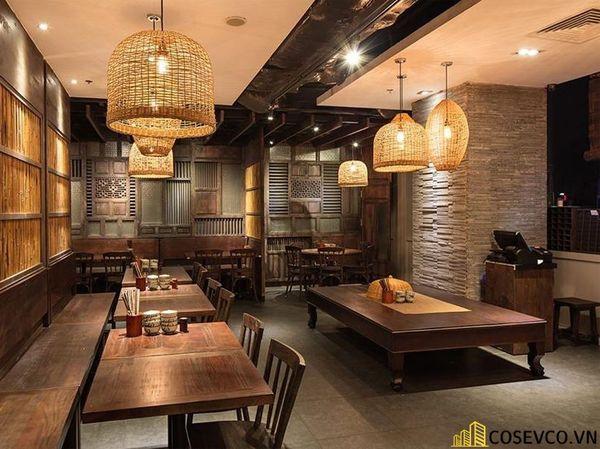 Thiết kế nhà hàng phong cách đồng quê nhưng vẫn mang đậm nét sang trọng tinh tế, tạo không gian thưởng thức ẩm thực thoải mái nhất tới khách hàng - View 19