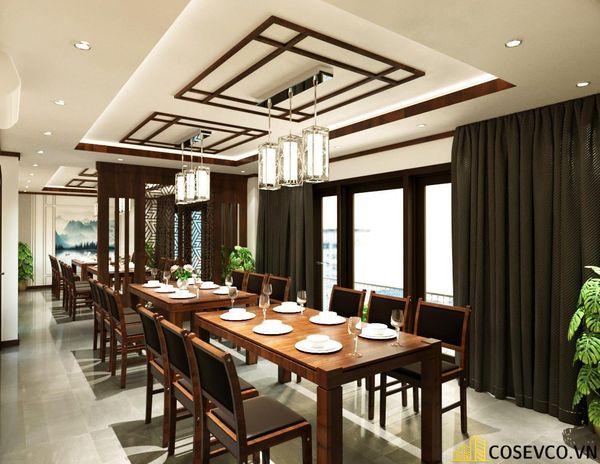 Phối cảnh thiết kế nhà hàng hải sản sang trọng - View 10