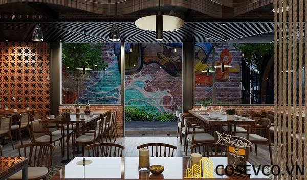Công trình nhà hàng hải sản Bạch Đằng - Hình ảnh 13