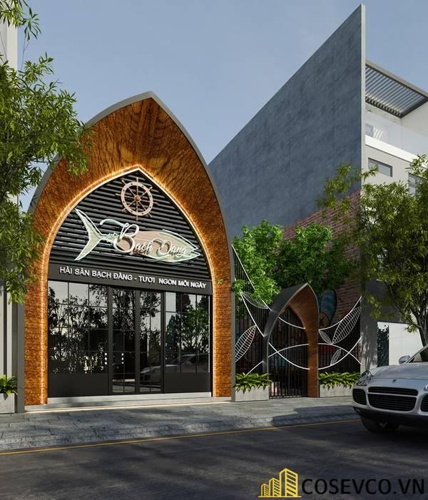 Công trình nhà hàng hải sản Bạch Đằng - Hình ảnh 1