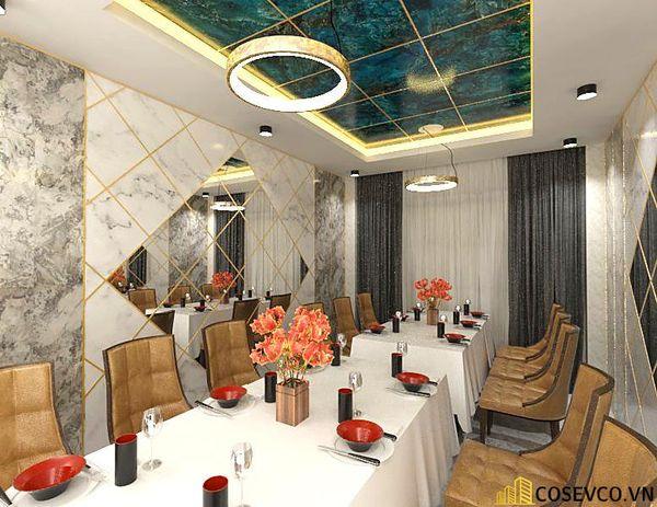 Phối cảnh thiết kế nhà hàng hải sản sang trọng - View 16