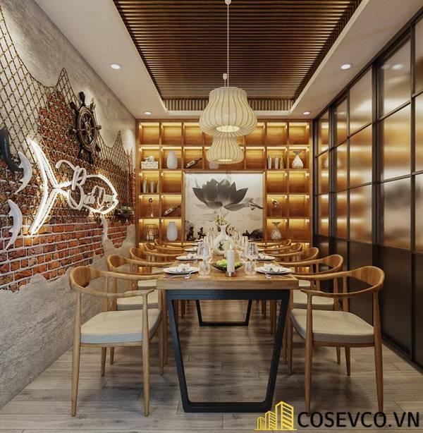 Công trình nhà hàng hải sản Bạch Đằng - Hình ảnh 17