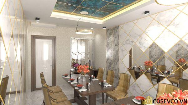 Phối cảnh thiết kế nhà hàng hải sản sang trọng - View 14