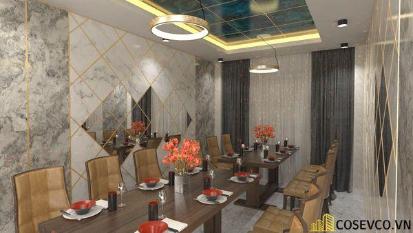 Phối cảnh thiết kế nhà hàng hải sản sang trọng - View 12