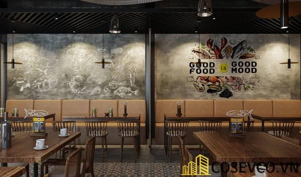 Công trình nhà hàng hải sản Bạch Đằng - Hình ảnh 30