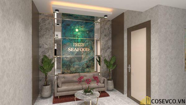 Phối cảnh thiết kế nhà hàng hải sản sang trọng - View 7