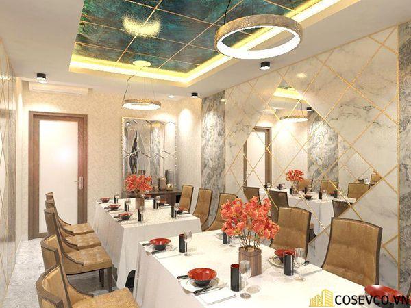 Phối cảnh thiết kế nhà hàng hải sản sang trọng - View 6