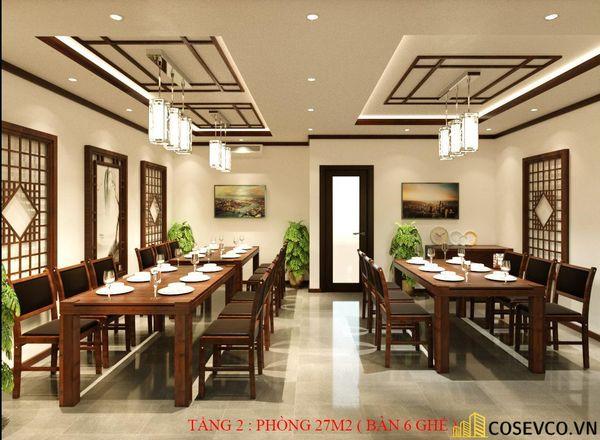 Phối cảnh thiết kế nhà hàng hải sản sang trọng - View 4