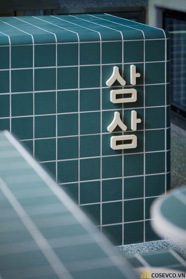Bố trí thiết kế nhà hàng Hàn Quốc độc đáo ấn tượng - View 2
