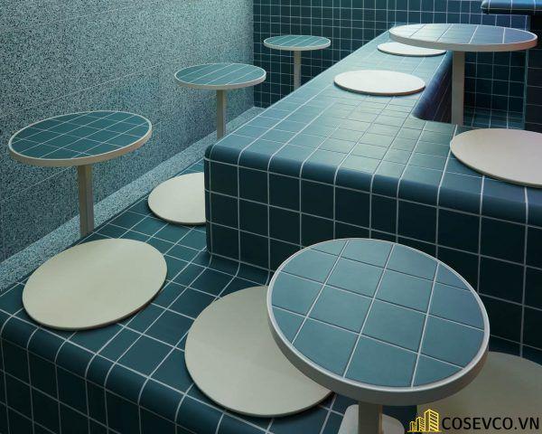 Bố trí thiết kế nhà hàng Hàn Quốc độc đáo ấn tượng - View 4