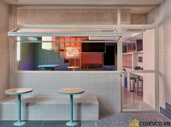 Bố trí thiết kế nhà hàng Hàn Quốc độc đáo ấn tượng - View 6