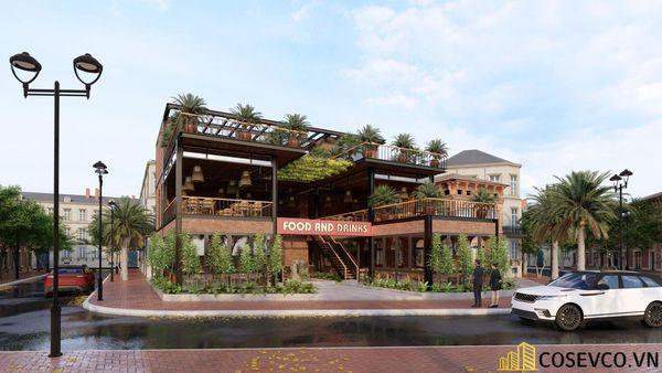 Mẫu thiết kế nhà hàng khung thép sang trọng - View 3