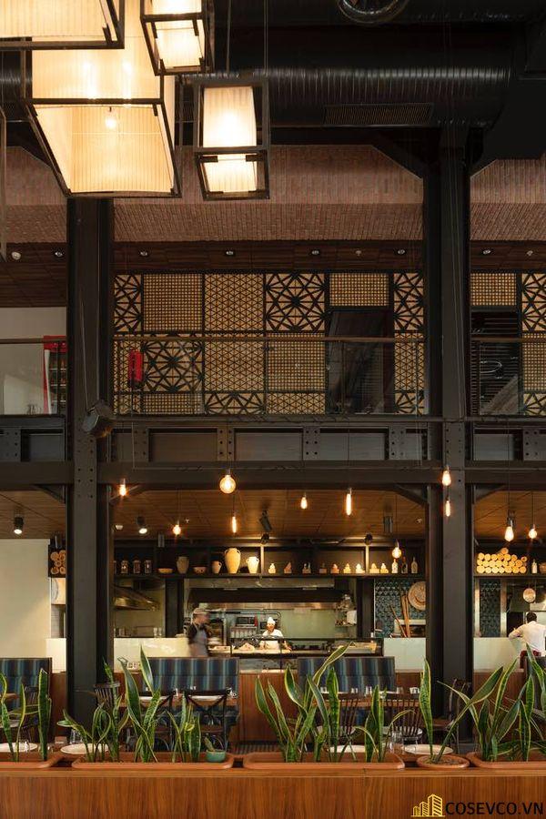 Mẫu thiết kế nhà hàng khung thép đẹp ấn tượng - View 7