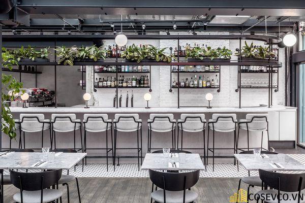 Mẫu thiết kế nhà hàng khung thép đẹp ấn tượng - View 8